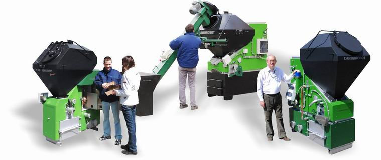 CARBOROBOT BIO Automated Boilers For Biomass Pellet Wood Chips Multifuel